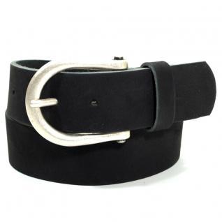 Esprit Herren 123EA1S001-E001 Basic Puls Belt Schwarz Gürtel 80 cm