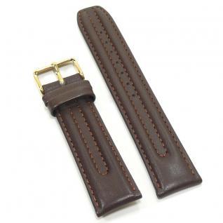 Condor Uhrenband 13050-20-20 Ersatzarmband 20 mm Sattelleder braun