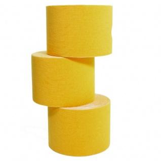 6 Rollen Wawaki Kinesiologie-Tape 5 m x 5, 0 cm gelb (EUR 0, 632 / m)