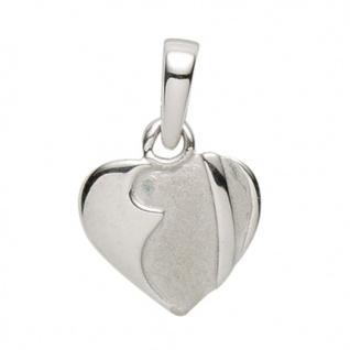 Basic Silber 21.1143S Damen Anhänger Herz Silber