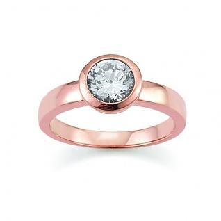 GOOIX 945-0001 Damen Ring rosé Zirkonia 56 (17.8)