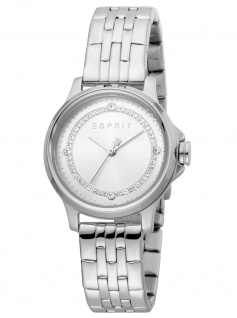 Esprit ES1L144M0055 Bent Silver MB Uhr Damenuhr Edelstahl silber