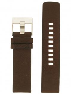Diesel Uhrenarmband LB-DZ1661 Original Ersatzband Leder 24 mm Braun