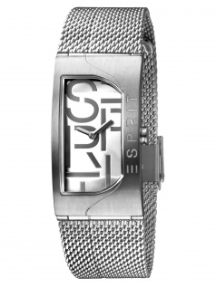 Esprit ES1L046M0015 Houston Bold Silver Damenuhr Edelstahl Silber