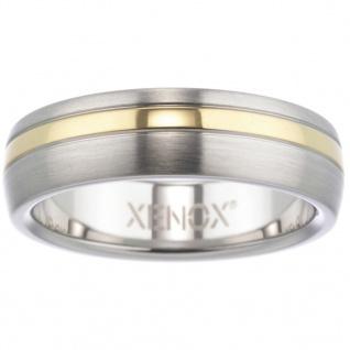 XENOX X1682-64 Herren Ring XENOX & friends Bicolor Gold 64 (20.4)