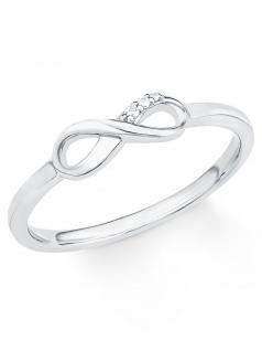 s.Oliver 2017248 Damen Ring Sterling-Silber 925 Silber Weiß 50 (15.9)