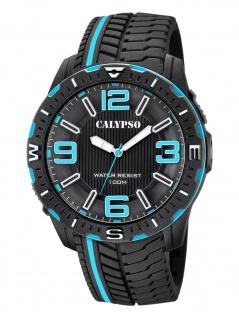 Calypso K5762/2 Uhr Herrenuhr Kunststoff schwarz