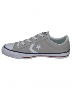 Converse Herren Schuhe Star Player Ox Grau Leinen Sneakers Größe 45