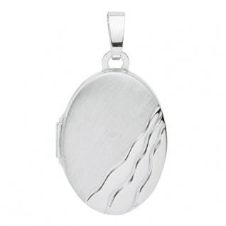 Basic Silber 26.0116 Damen Anhänger Medaillon Silber