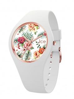 Ice-Watch 016661 ICE flower Legende S Uhr Damenuhr Kautschuk Weiß