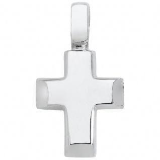 Basic Silber SKE07 Damen Anhänger Kreuz Silber