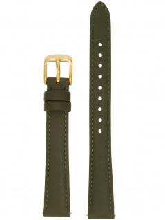 Fossil Uhrenarmband LB-ES3707 Original Ersatzband Leder 14 mm Grau