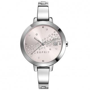 Esprit ES108482001 esprit-tp10848 silver Uhr Damenuhr Datum silber