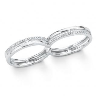 s.Oliver 2015105 Damen Ring Sterling-Silber 925 Silber Weiß 56 (17.8)