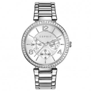 Esprit esprit tp-10898 silver Uhr Damenuhr Edelstahl Datum silber