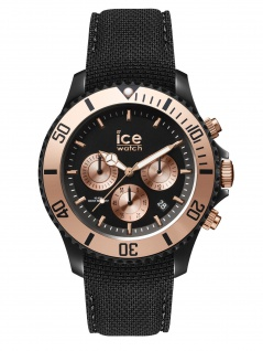 Ice-Watch ICE Urban Chrono PA Black Rose-Gold Uhr Herren Datum Schwarz