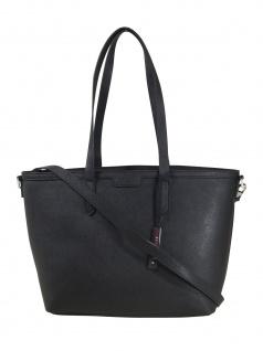 Esprit Damen Handtasche Tasche Shopper Akira Shopper Schwarz