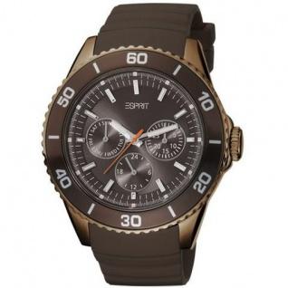 Esprit ES103622007 Damenuhr deviate brown braun Silikon Edelstahl
