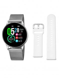Lotus 50000/1 Smartime Smart Watches Herrenuhr Edelstahl Datum Silber