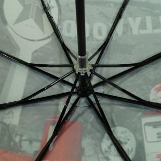 Y Not 55545 Super Mini City Hollywood Grau-Rot Taschenschirm - Vorschau 2