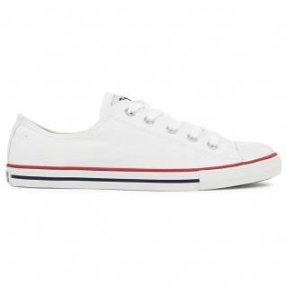 Converse Damen Schuhe CT Dainty Ox Weiß 537204C Sneakers Chucks 40, 5