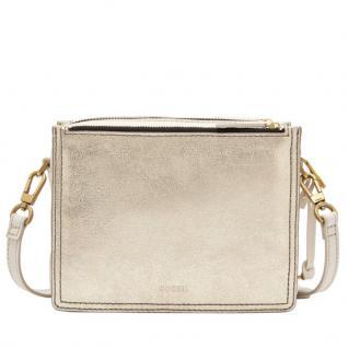 Fossil Campbell Crossbody Gold Metallic Damen Hand Tasche ZB7400-751