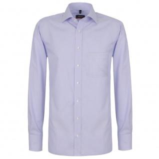 Eterna Herrenhemd Hemd Langarm Modern Fit Blau Gr. L/41 4251/10/X187