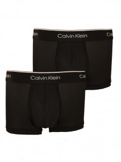 Calvin Klein Herren Boxershort 2er Pack Sport Low Rise Trunk M Schwarz