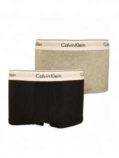 Calvin Klein Herren Boxershort 2er Pack Low Rise Trunk XL Mehrfarbig