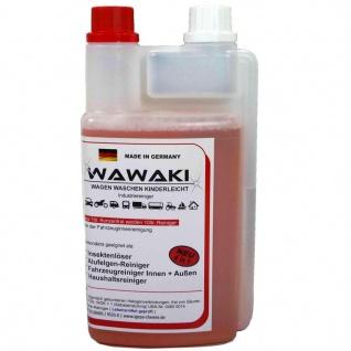 1 L Konzentrat Wawaki rot Scheibenreiniger Scheibenklar 1:20