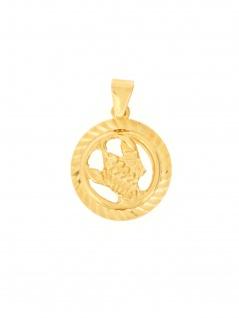 Gerry Eder 24.9021KR Anhänger Krebs 14 Karat (585) Gelbgold Gold