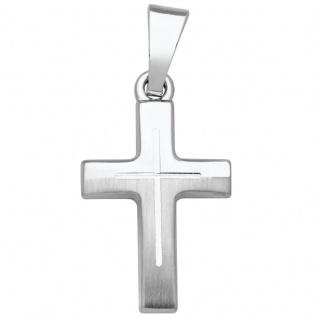 Basic Silber SKE17 Kinderschmuck Anhänger Kinder Kreuz Silber