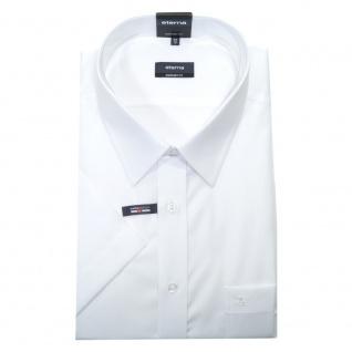 Eterna Herrenhemd Kurzarm 1100/00/K198 Comfort Fit Weiß Gr. XXXL/48