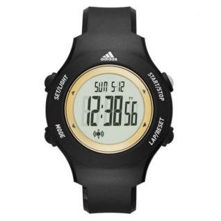 Adidas ADP3212 Uhr Herrenuhr Kunststoff Datum Alarm schwarz