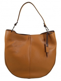 Esprit Damen Handtasche Tasche Henkeltasche Nancy Hobo Braun