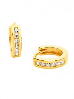 Prinzessin Lillifee 2029722 Mädchen Creolen Gold Weiß