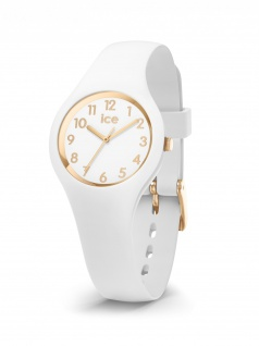 Ice-Watch 015341 ICE glam white gold numbers extra small 3H Uhr Weiß
