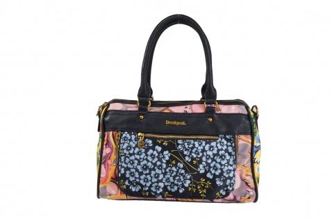 Desigual Handtasche Tasche Henkeltasche PARADISO DUBLIN Mehrfarbig