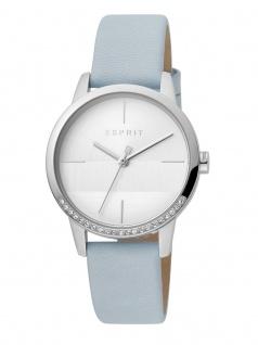 Esprit ES1L106L0015 Yen Uhr Damenuhr Lederarmband Blau