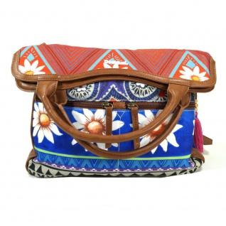 Desigual Cordoba Happy Bazar Blau Damen Handtasche Tasche Henkeltasche