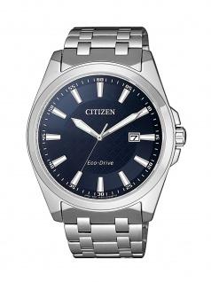 Citizen BM7108-81L Uhr Herrenuhr Edelstahl Datum Silber