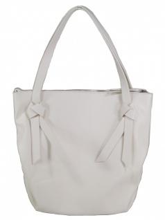 Esprit Damen Handtasche Tasche Henkeltasche Charly Shopper Weiß