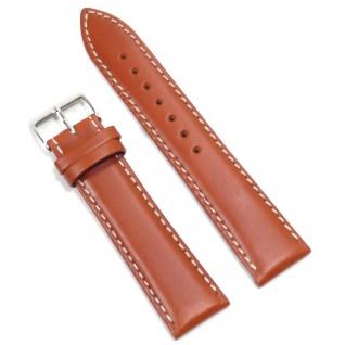 Condor Uhrenband 19615-20-30 Ersatzarmband 20 mm Sattelleder braun