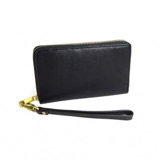 Fossil Geldbörse EMMA RFID Smartphone Wristlet Schwarz SL7443-001