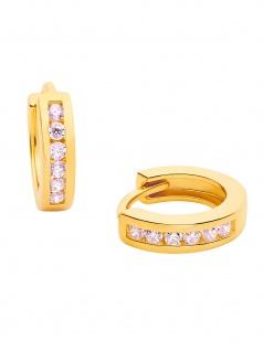 Prinzessin Lillifee 2029723 Mädchen Creolen Gold Rosa