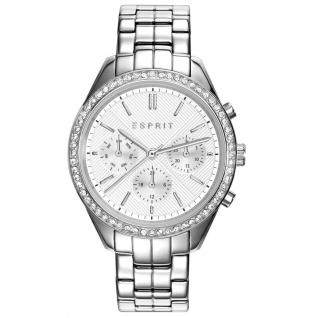 Esprit ES109232002 TP10923 SILVER Uhr Damenuhr Edelstahl Datum silber