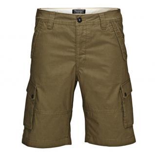 Jack & Jones Herren Hose WEST Cargo Shorts NOOS Grün Gr. M - Vorschau 2