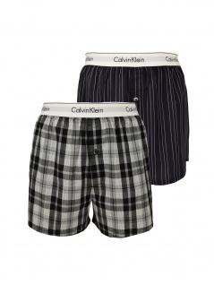 Calvin Klein Herren Boxershort 2er Pack Boxer Slim M Bunt NB1396A-JKZ