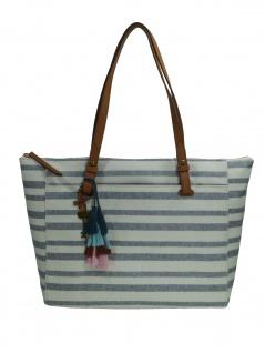 Fossil Damen Handtasche Tasche Shopper Rachel TZ Tote Weiß