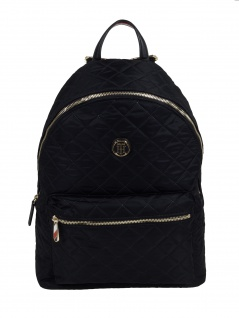 Tommy Hilfiger Rucksack Poppy Backpack 20L Schwarz AW0AW07284-BDS